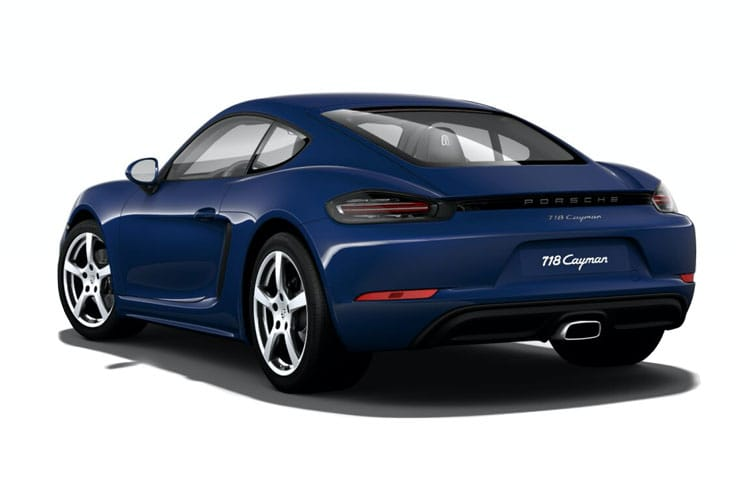 Porsche 718 Cayman Coupe 2.5 T 350PS S 2Dr Manual [Start Stop] back view
