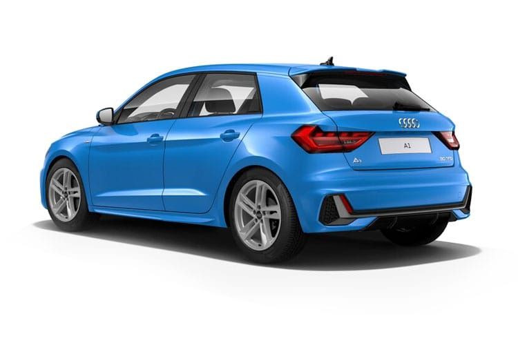 Audi A1 30 Sportback 5Dr 1.0 TFSI 110PS Black Edition 5Dr S Tronic [Start Stop] back view