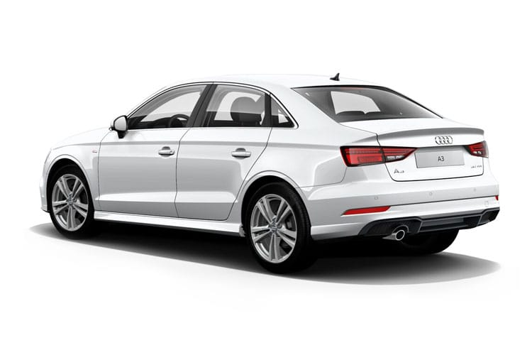 Audi A3 35 Saloon 4Dr 2.0 TDI 150PS S line 4Dr S Tronic [Start Stop] [Comfort Sound] back view
