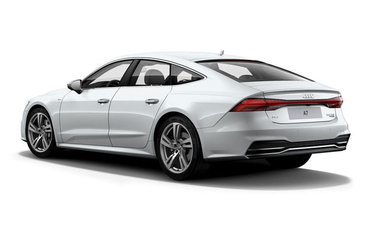 Audi A7 S7 Sportback quattro 5Dr 3.0 TDI V6 344PS  5Dr Tiptronic [Start Stop] [Comfort Sound] back view