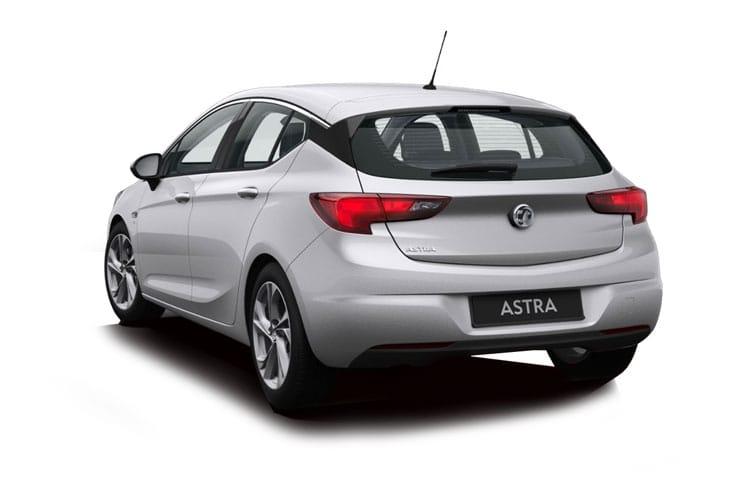Vauxhall Astra Hatch 5Dr 1.4 i Turbo 145PS SE 5Dr CVT [Start Stop] back view