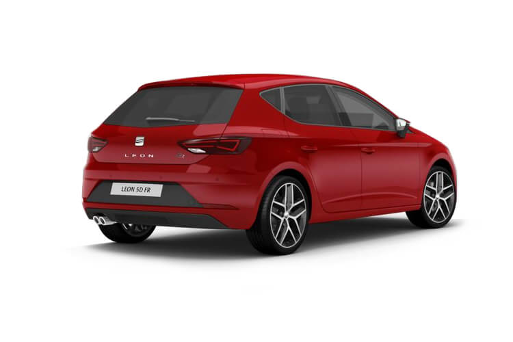 SEAT Leon Hatch 5Dr 1.5 TSI EVO 130PS FR Sport 5Dr Manual [Start Stop] back view