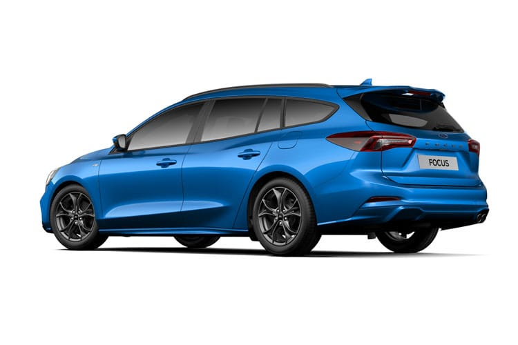 Ford Focus Estate 2.0 EcoBlue 150PS Active X Edition 5Dr Auto [Start Stop] back view