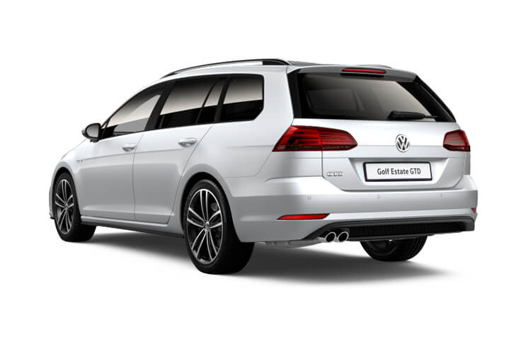 Volkswagen Golf Alltrack 4Motion 2.0 TDI 200PS  5Dr DSG [Start Stop] [Discover Nav Pro] back view