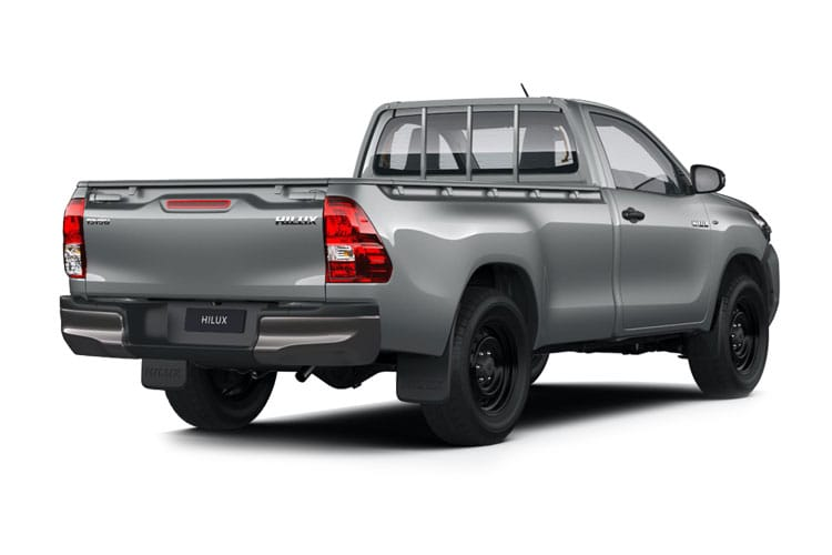 Toyota Hilux PickUp Double Cab 4wd 2.4 D-4D 4WD 150PS Invincible X Safety Sense Pickup Double Cab Auto [Start Stop] back view