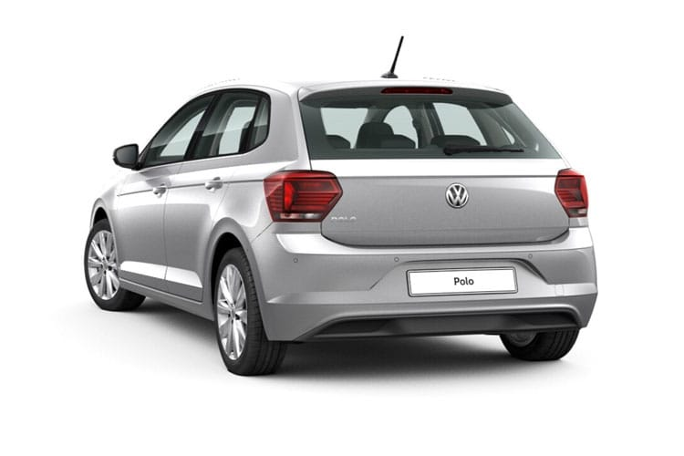Volkswagen Polo Hatch 5Dr 1.0 TSI 95PS R-Line 5Dr Manual [Start Stop] back view