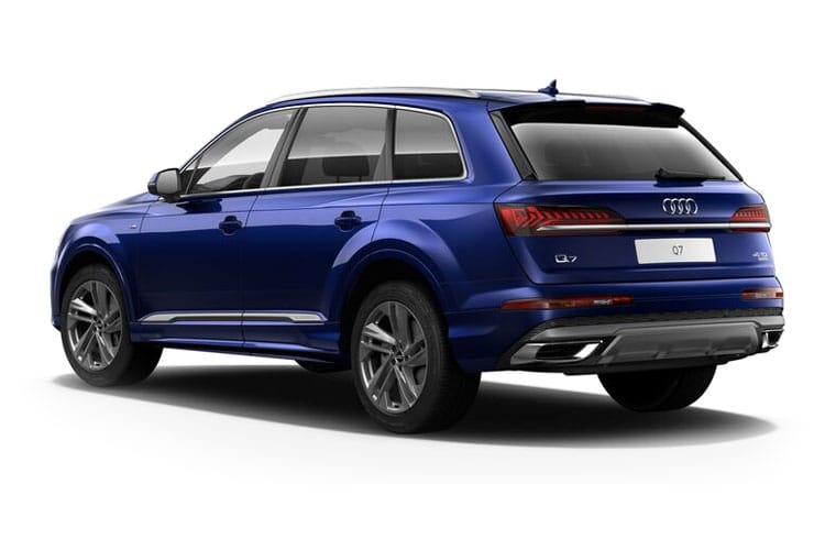 Audi Q7 60 SUV quattro 5Dr 3.0 TFSIe V6 PHEV 17.9kWh 462PS Competition 5Dr Tiptronic [Start Stop] back view