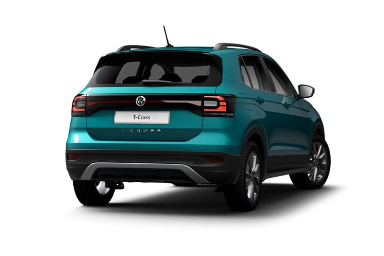 Volkswagen T-Cross SUV 1.0 TSI 95PS SE 5Dr Manual [Start Stop] back view