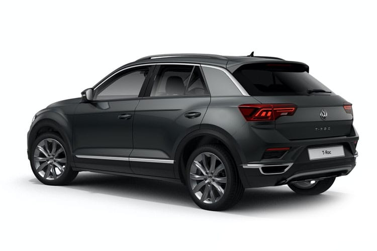 Volkswagen T-Roc SUV 2wd 2.0 TDI 150PS SE 5Dr Manual [Start Stop] back view