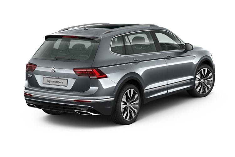 Volkswagen Tiguan Allspace SUV 1.5 TSI EVO 150PS Match 5Dr Manual [Start Stop] back view