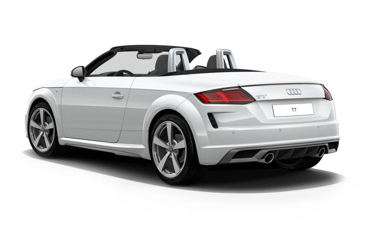 Audi TT 45 Roadster quattro 2.0 TFSI 245PS S line 2Dr S Tronic [Start Stop] back view