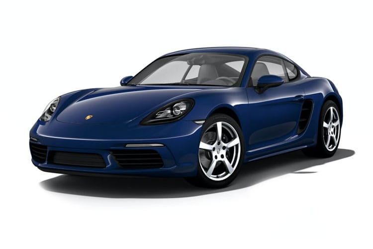 Porsche 718 Cayman Coupe 2.5 T 350PS S 2Dr Manual [Start Stop] front view