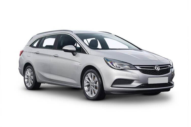 Vauxhall Astra Sports Tourer 1.4 i Turbo 145PS SRi Nav 5Dr CVT [Start Stop] front view