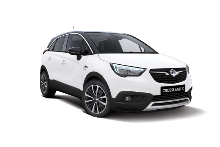Vauxhall Crossland X SUV 1.2 Turbo 130PS Business Edition Nav 5Dr Manual [Start Stop] front view