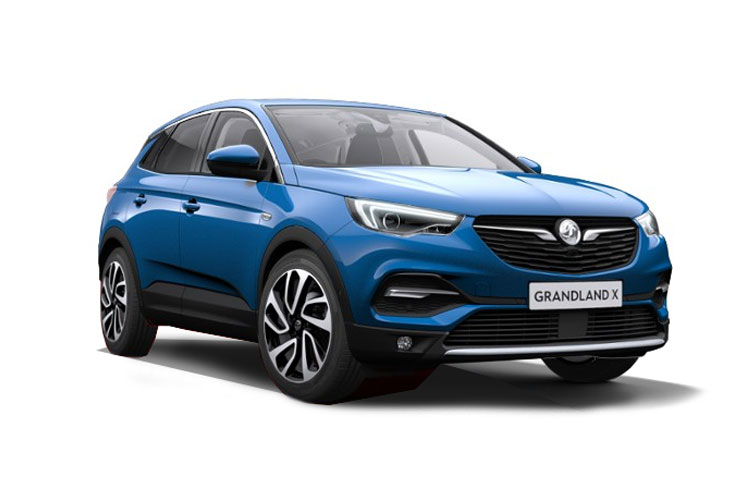 Vauxhall Grandland X SUV 1.5 Turbo D 130PS SRi Nav 5Dr Auto [Start Stop] front view