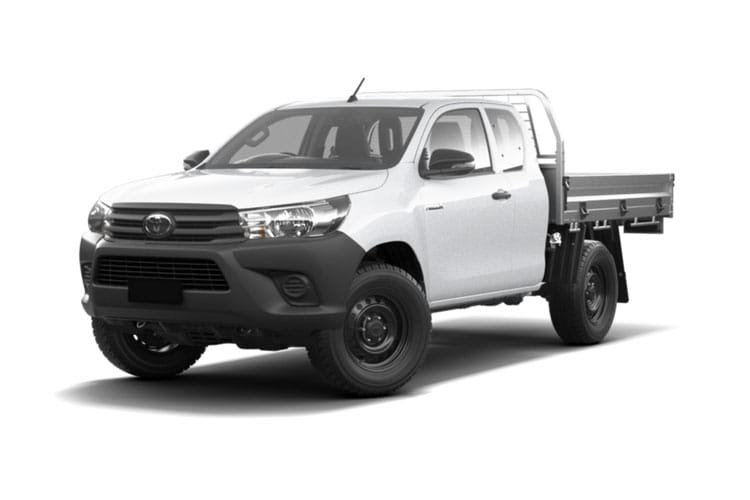 Toyota Hilux PickUp Extra Cab 4wd 3.5t 2.4 D-4D 4WD 150PS Active Tipper Tipper Double Cab Manual [Safety Sense] front view