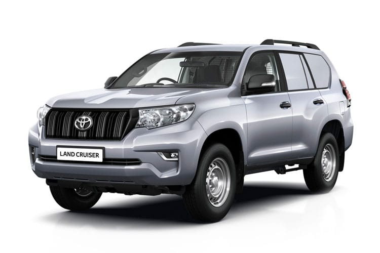 Toyota LandCruiser LCV SWB 4wd 2.8 D 4WD 177PS Active Van Auto [2Seat] front view
