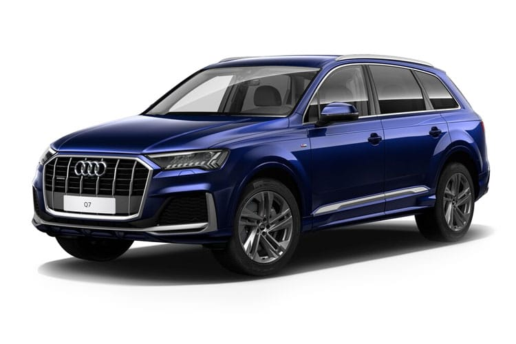 Audi Q7 60 SUV quattro 5Dr 3.0 TFSIe V6 PHEV 17.9kWh 462PS Competition 5Dr Tiptronic [Start Stop] front view