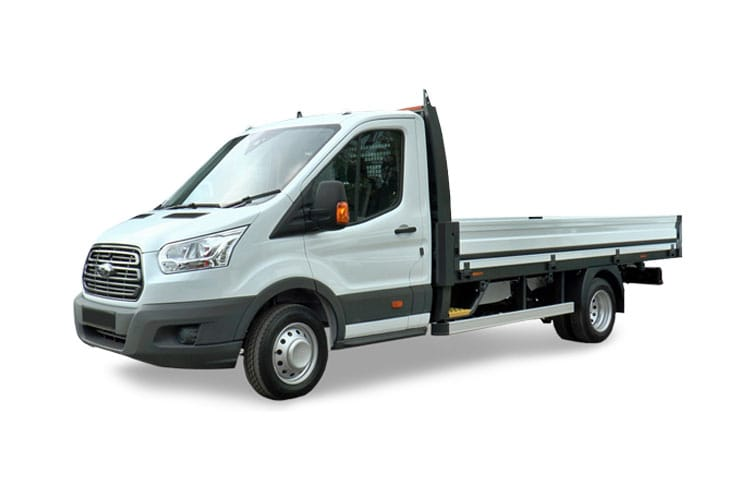 Ford Transit 350HD L3 2.0 EcoBlue FWD 160PS Leader Premium Dropside Manual [Start Stop] front view