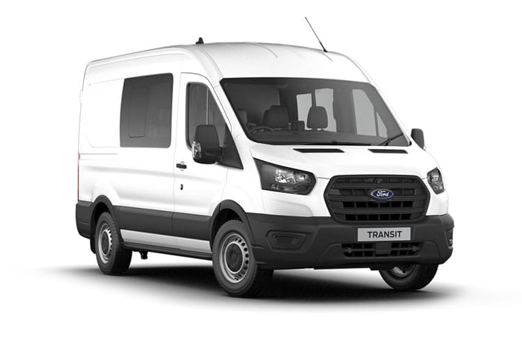 Ford Transit 350 L3 RWD 2.0 EcoBlue RWD 170PS Trend Crew Van High Roof Manual [Start Stop] [DCiV] front view