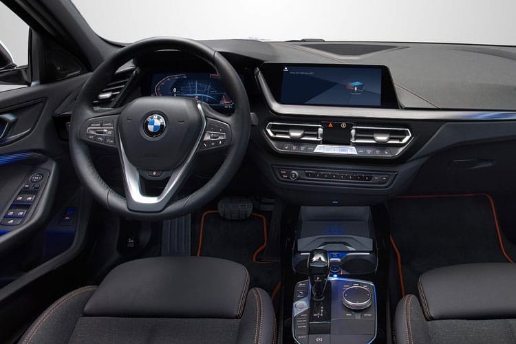 BMW 1 Series 118 Hatch 5Dr 1.5 i 136PS M Sport 5Dr DCT [Start Stop] inside view