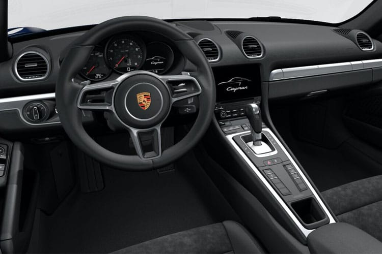 Porsche 718 Cayman Coupe 2.5 T 350PS S 2Dr Manual [Start Stop] inside view