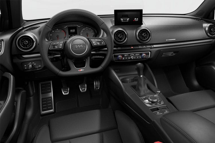 Audi A3 35 Saloon 4Dr 2.0 TDI 150PS S line 4Dr S Tronic [Start Stop] [Comfort Sound] inside view