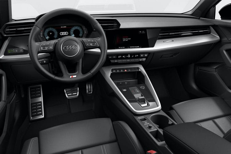 Audi A3 30 Sportback 5Dr 1.0 TFSI 110PS S line 5Dr Manual [Start Stop] inside view