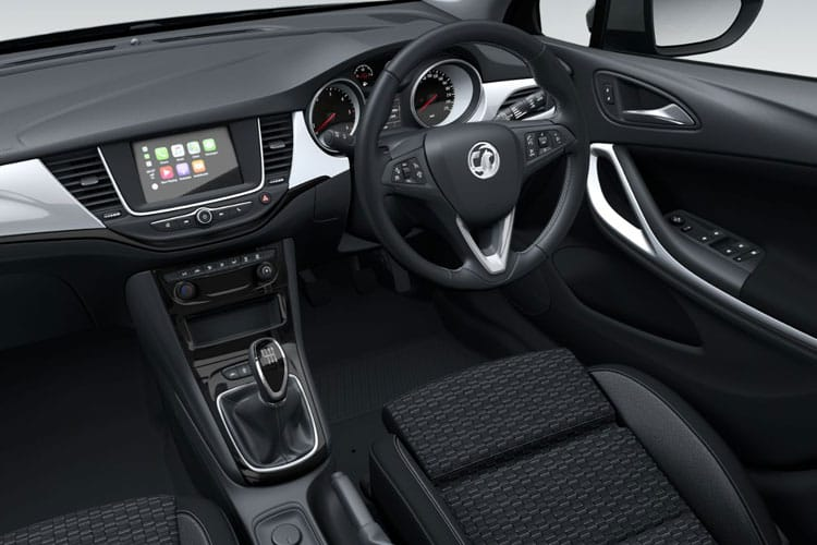 Vauxhall Astra Hatch 5Dr 1.5 Turbo D 122PS SRi Nav 5Dr Auto [Start Stop] inside view