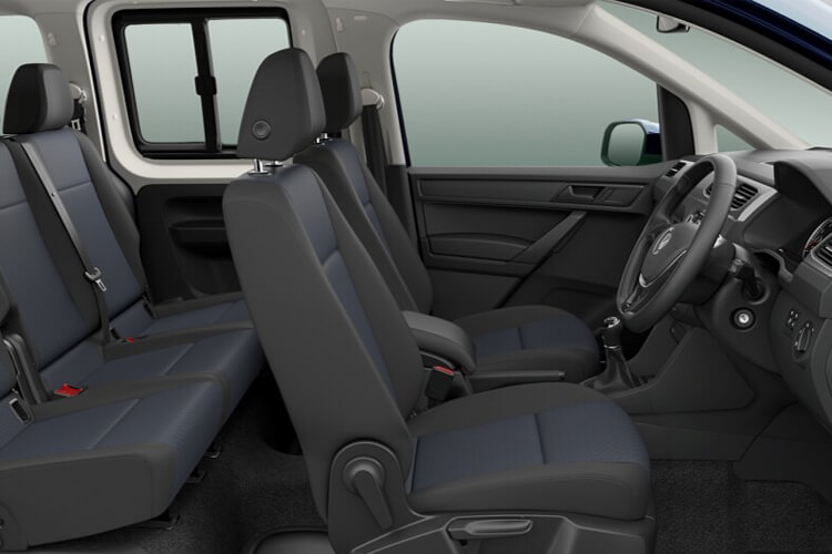 Volkswagen Caddy Maxi Life M1 1.0 TSI FWD 102PS  MPV Manual [Start Stop] [7Seat] inside view