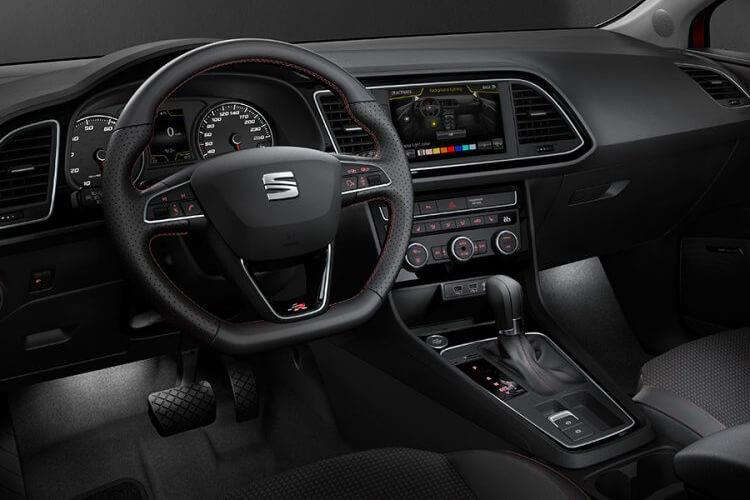 SEAT Leon Hatch 5Dr 1.5 TSI EVO 130PS FR Sport 5Dr Manual [Start Stop] inside view