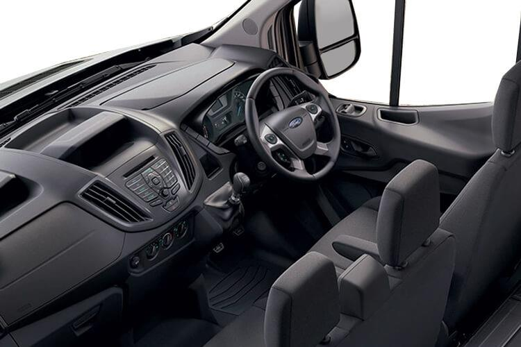 Ford Transit 350 L3 2.0 EcoBlue FWD 130PS Leader Luton Manual [Start Stop] [Skeletal Low Floor] inside view