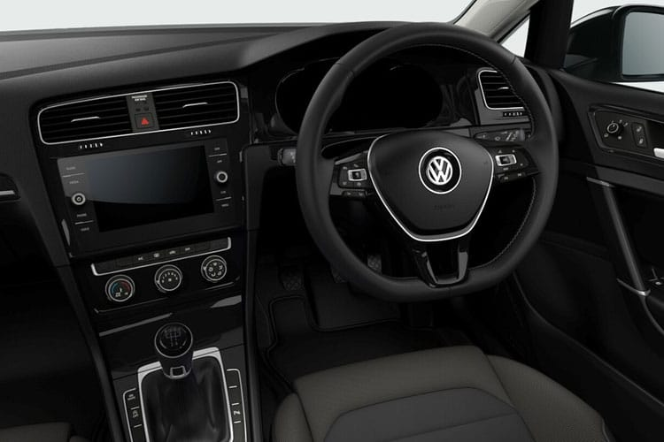 Volkswagen Golf Hatch 5Dr 2.0 TDI 115PS Style 5Dr DSG [Start Stop] inside view