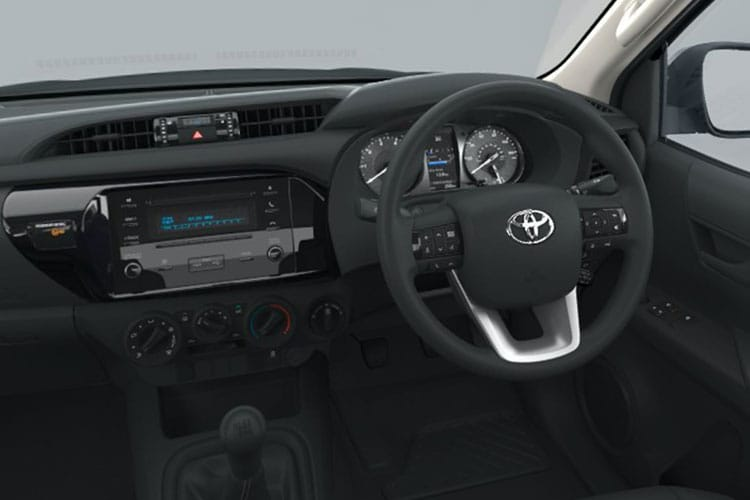 Toyota Hilux PickUp Double Cab 4wd 2.4 D-4D 4WD 150PS Invincible X Safety Sense Pickup Double Cab Auto [Start Stop] inside view