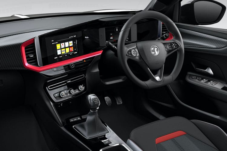 Vauxhall Mokka SUV 2wd 1.2 Turbo 130PS Launch Edition 5Dr Auto [Start Stop] inside view