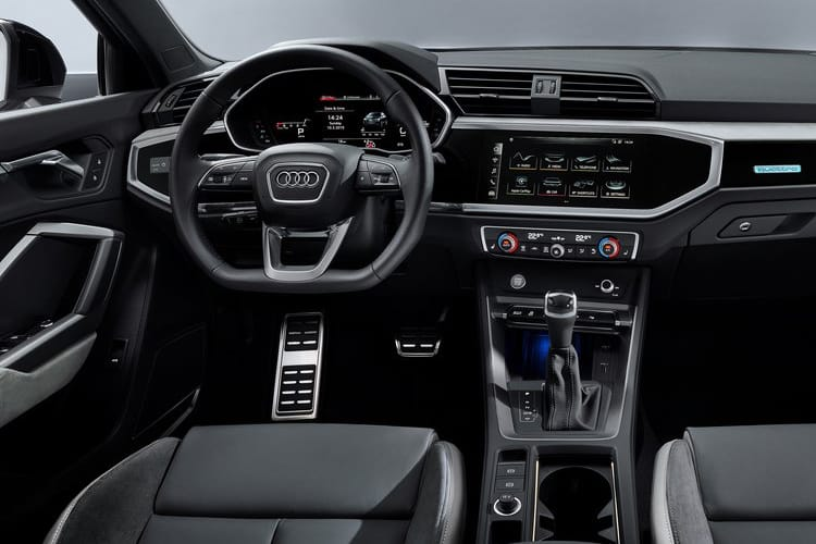 Audi Q3 45 SUV quattro 5Dr 2.0 TFSI 245PS Black Edition 5Dr S Tronic [Start Stop] inside view