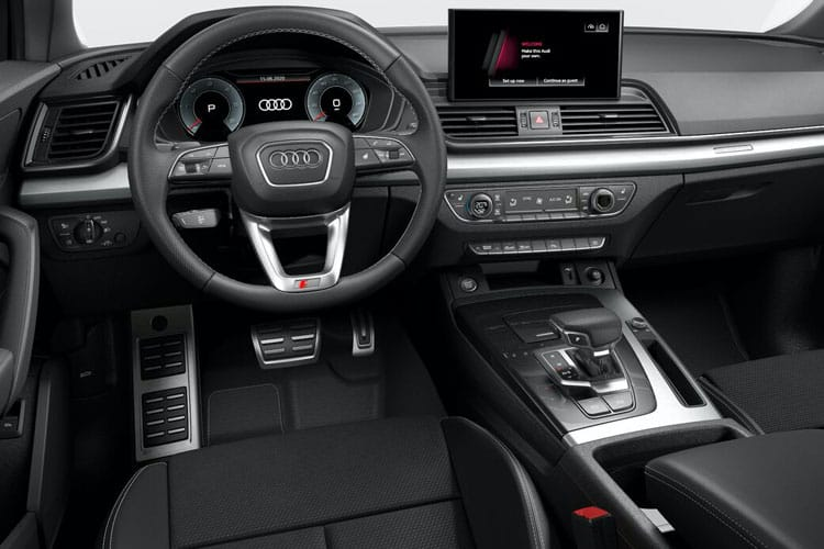 Audi Q5 SQ5 SUV quattro 5Dr 3.0 TDI V6 341PS  5Dr Tiptronic [Start Stop] [Comfort Sound] inside view