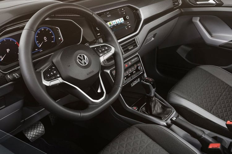 Volkswagen T-Cross SUV 1.0 TSI 95PS SE 5Dr Manual [Start Stop] inside view