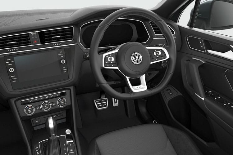 Volkswagen Tiguan Allspace SUV 1.5 TSI EVO 150PS Match 5Dr Manual [Start Stop] inside view