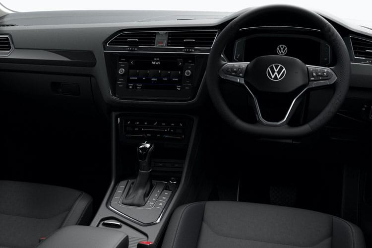 Volkswagen Tiguan SUV 2wd SWB 2.0 TDI 150PS R-Line Tech 5Dr Manual [Start Stop] inside view