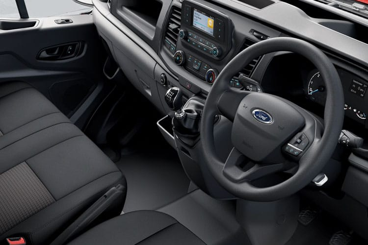 Ford Transit 350 L3 RWD 2.0 EcoBlue RWD 170PS Leader Chassis Cab Manual [Start Stop] inside view