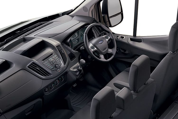 Ford Transit 350 L3 RWD 2.0 EcoBlue RWD 170PS Leader Tipper Double Cab Manual [Start Stop] [1Way 1Stop Aluminium] inside view