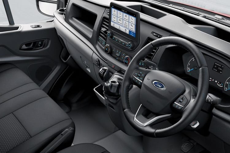 Ford Transit 350 L3 RWD 2.0 EcoBlue RWD 170PS Trend Crew Van High Roof Manual [Start Stop] [DCiV] inside view