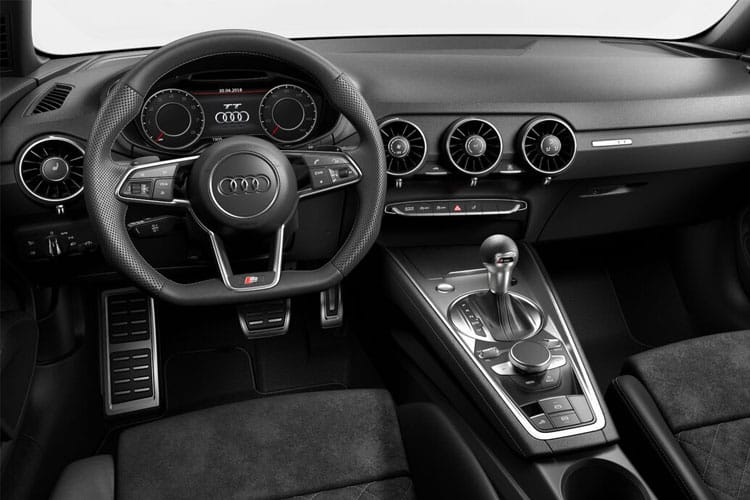 Audi TT 45 Roadster quattro 2.0 TFSI 245PS S line 2Dr S Tronic [Start Stop] inside view